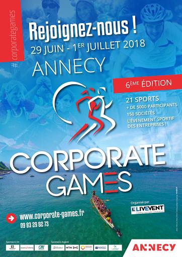 Corporate Games à Annecy 2018