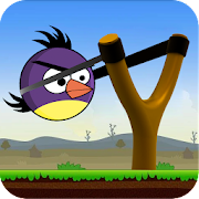 APK Game Knock down Birds Throw Puzzle Challenge for BB, BlackBerry
