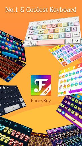 FancyKey Keyboard - Emoji, GIF 2.1 screenshots 1
