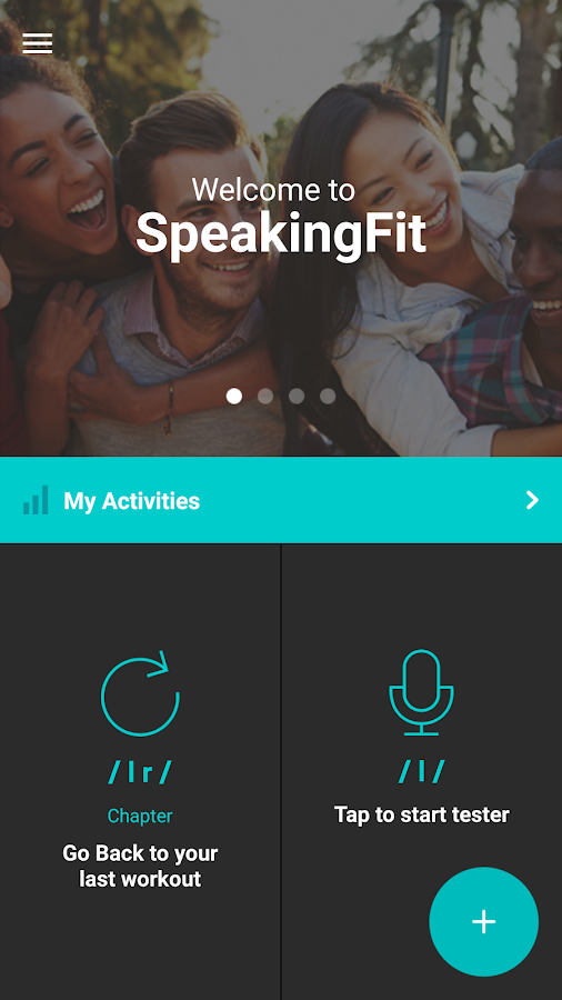 SpeakingFit- screenshot