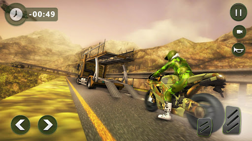 US Army Transporter: Truck Simulator Driving Games  captures d'écran 6