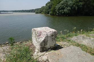Photo: Devín, soutok Dunaje a Moravy, start přechodu