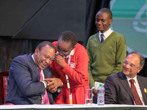 Image result for Uhuru with students