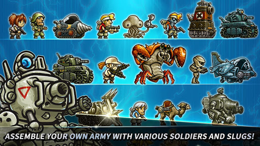 Metal Slug Infinity: Idle Role Playing Game screenshots 9