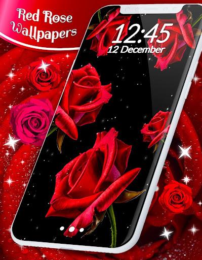 Red Rose Live Wallpaper  screenshots 7