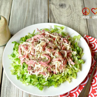 Reuben Chopped Salad - Low Carb, Gluten Free Recipe