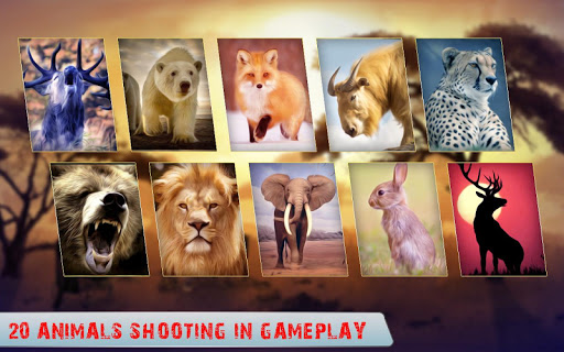 Wild Animal Hunter apkpoly screenshots 4