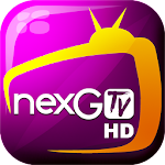 nexGTv HD:Mobile TV, Live TV Icon