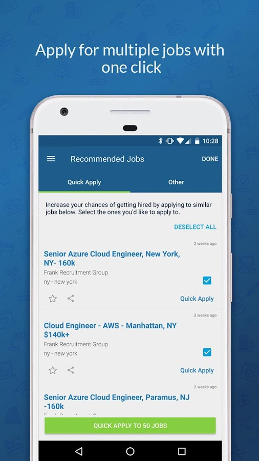 CareerBuilder Job Search- screenshot