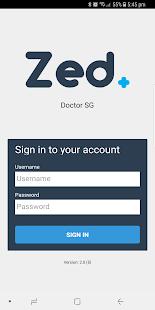 Zed Doctor SG - náhled
