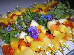 Photo: Brochette de fruits