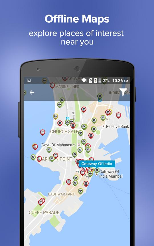 Mumbai Travel Guide & Maps- screenshot