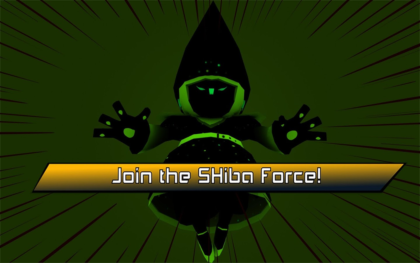 Mighty Swiping Shiba Force: captura de pantalla