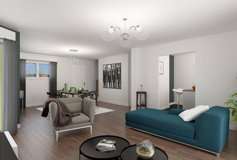 Vente Terrain + Maison - Terrain : 644m² - Maison : 88m² à Oisemont (80140)