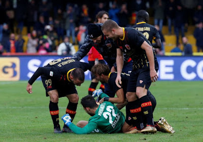 ? INCROYABLE ! Benevento prend son premier point en Serie A via un but de son gardien !