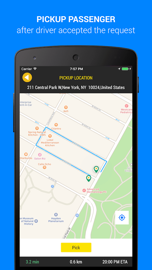 Hire Me - Taxi app for Drivers- screenshot