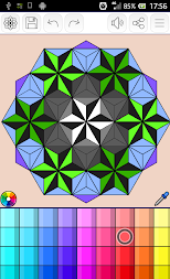 Mandalas coloring pages (+200 free templates) APK screenshot thumbnail 7