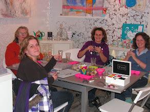 Photo: 1ste workshop vrije inschrijving in de shop! 10-12-10