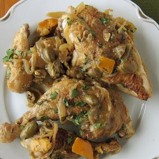 Pressure Cooker Moroccan Lemon Chicken