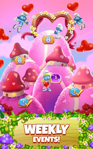 Smurfs Bubble Shooter Story 2.15.050204 screenshots 23