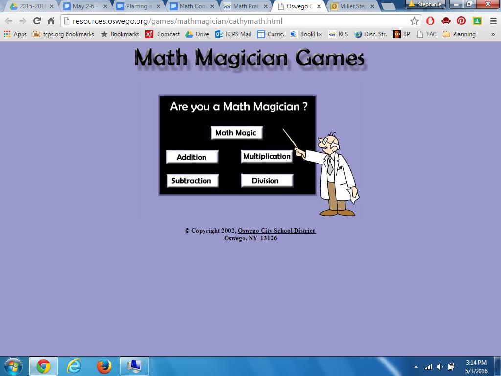 Math Practice Links | Kemptown Elementary School
