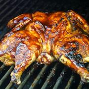 BBQ Whole Chicken Platter