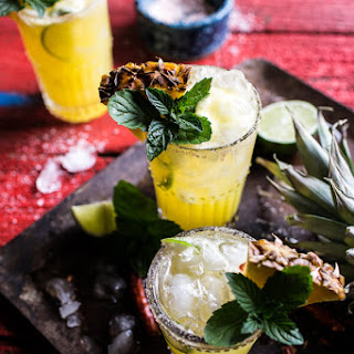 4-Ingredient Pineapple Lime Chelada (I made us a drink!)..
