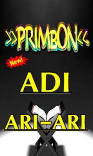 PRIMBON JAWA ADI ARI ARI TERLENGKAP - náhled