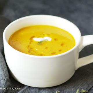 Quick & Easy Creamy Pumpkin Soup