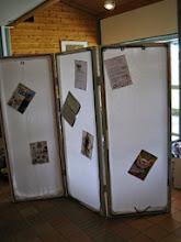 Photo: Vikväggen finns till för att vem som helst skall ta tillfället i akt att göra nya bekantskaper, göra reklamför sig etc.