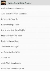 Owais Raza Qadri Naat Free screenshot 0