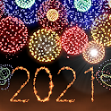 New Year 2021 Fireworks icon