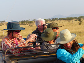 Photo: See the E AFR SAF FELLOW TRAVELLERS album for other views of folks having fun on a game drive. With the pre-trip we did more than 20 game drives.