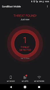 SandBlast Mobile Protect - náhled