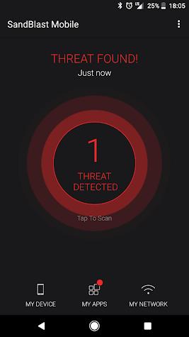 SandBlast Mobile Protect Screenshot