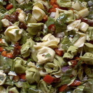 Artichoke and Tortellini Pasta Salad
