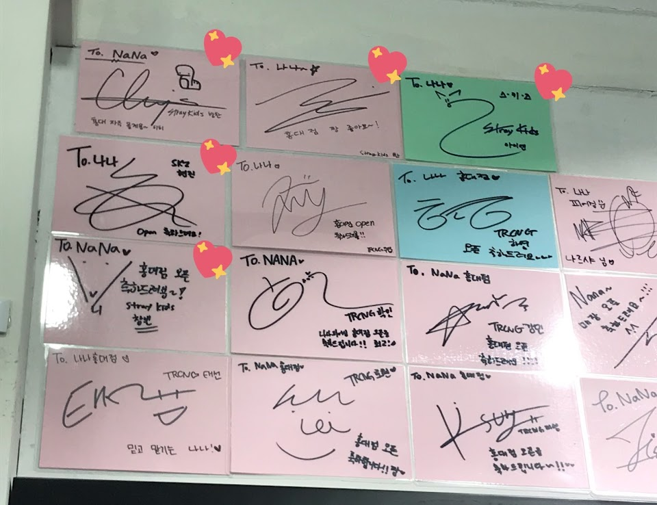 Stray Kids Signatures