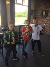 Photo: vlnr: Justin Hamminga, Caspar van Wakeren en Thomas de Vries