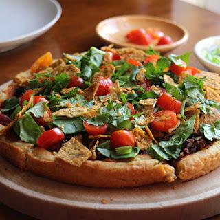 Black Bean Taco Pizza