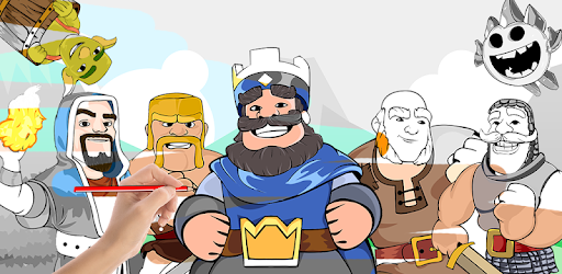 How to Draw: Clash Royale Apps (apk) free download for Android/PC/Windows screenshot