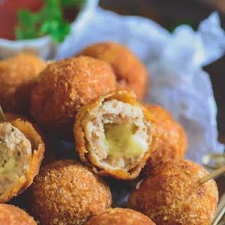 Chicken Cheese Balls.