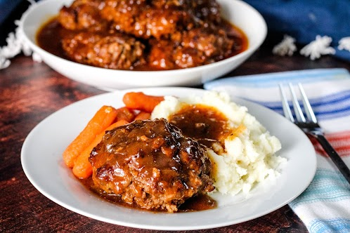 Sea's Salisbury Steak