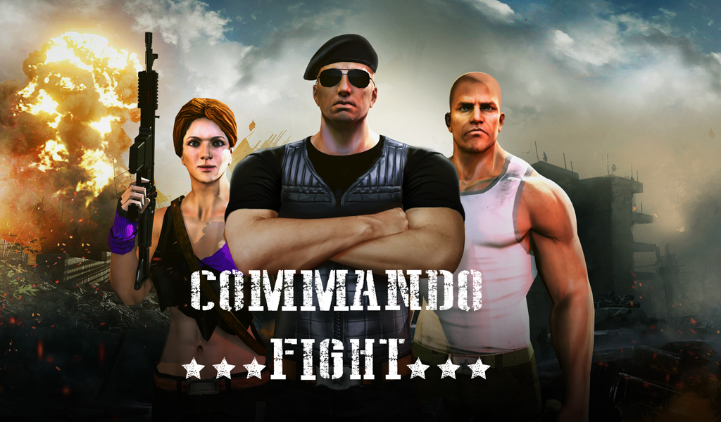 Fighter Commando- screenshot