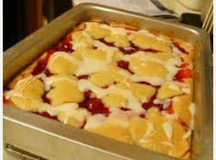 Easy Cherry Cake Recipe