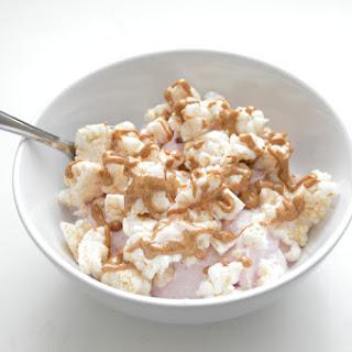 Crunchy Berry Almond Yogurt.