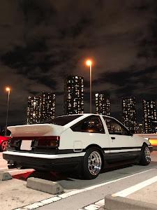 スプリンタートレノ AE86 1986年式  GT-APEXのカスタム事例画像 🌸にゃんこたろう🐾さんの2018年12月10日21:47の投稿