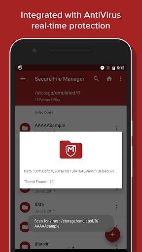 Secure File Manager screenshot 2