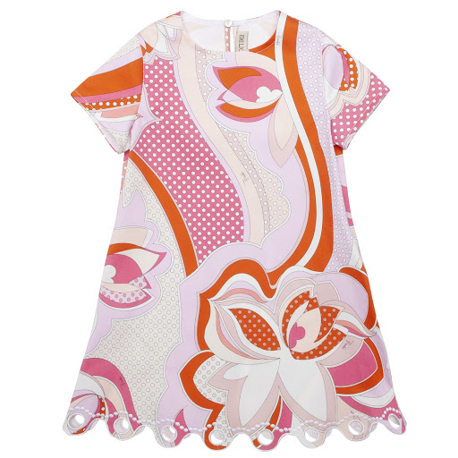 Primary image of Emilio Pucci Scalloped Hem Dress