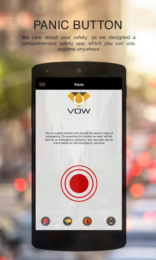 Vow Cabs - The Taxi App- screenshot
