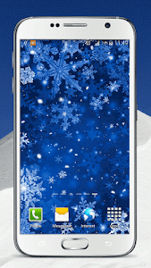 Snowflake Live Wallpaper screenshot 3